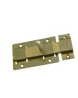 Задвижка дверная Металлист ЗД-02 полимер бронза