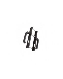 Ручки для узкопроф.дверей 28/85 коричневая м/о 85 мм