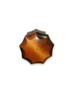 Ручка кнопка Йошкар-Ола граненая Красное дерево