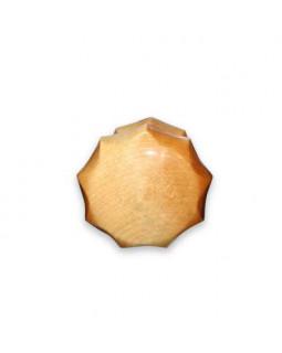 Ручка кнопка Йошкар-Ола граненая Карельская берёза