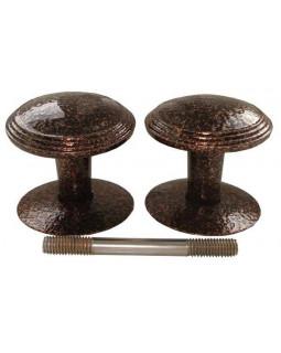 Ручка дверная Реж РДК-115 антик медь