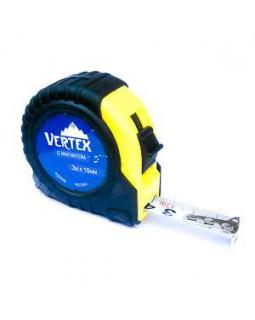 Рулетка Vertex 10 м*25 мм обрезиненный корпус
