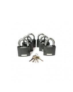 Набор Замков Apecs PD-01-63 6 замка + 5 ключей
