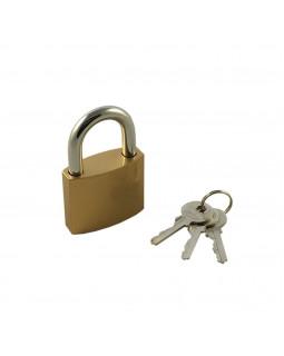 Замок Optoring Gold 50 mm под один ключ