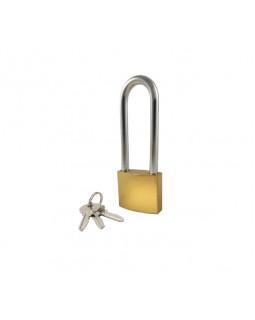 Замок Optoring Gold 50L mm под один ключ