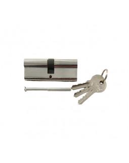Цилиндр механический Tiseo 80 кл/кл под один ключ