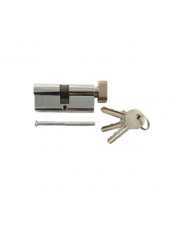 Цилиндр механический Tiseo 70 кл/верт под один ключ