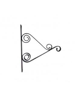 Кронштейн для кашпо Домарт мод.4  25 см (медь антик)