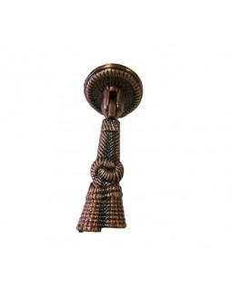 Ручка висячая мебельная КНР коса Медь