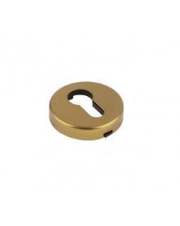 Накладка дверная КНР круглая  под цилиндр золото