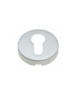 Накладка дверная КНР под цилиндр круглая хром