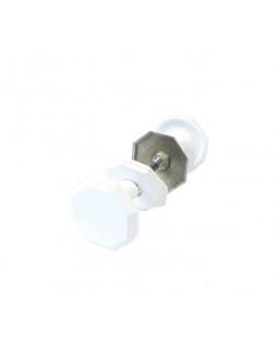 Ручка дверная Реж РДК-118 антик белая