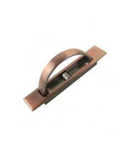 Ручка мебельная КНР нажимная потайная медь