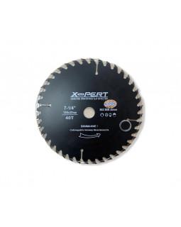 Диск пильный по дереву X-pert 185-20 мм 40Т